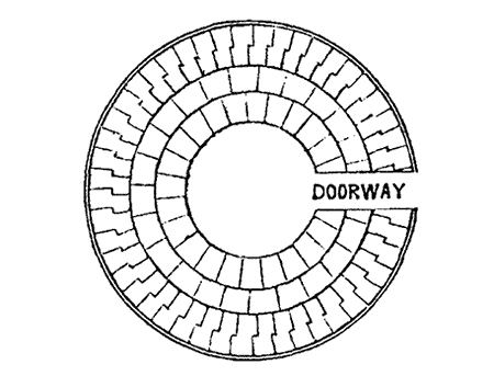 Plan at doorway
