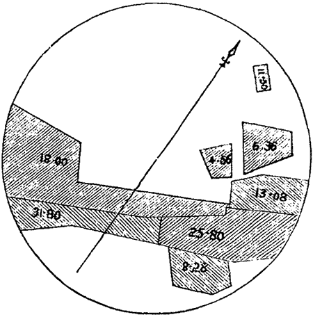 Plan of excavation