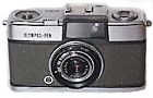 Olympus Pen half-frame 35mm camera, introduced 1959